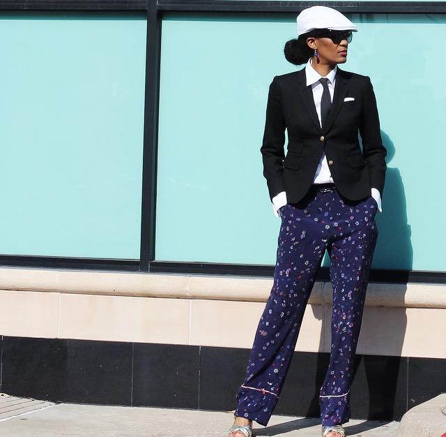 Trousers: Pajama Style