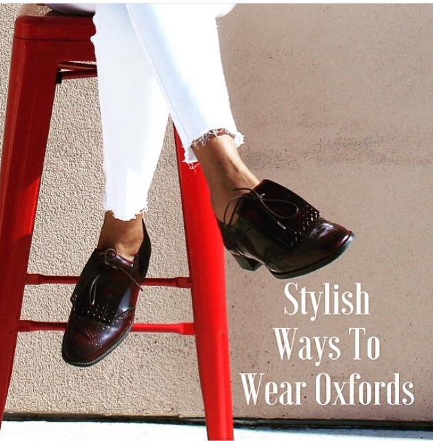 Stylish Ways to WearOxfords